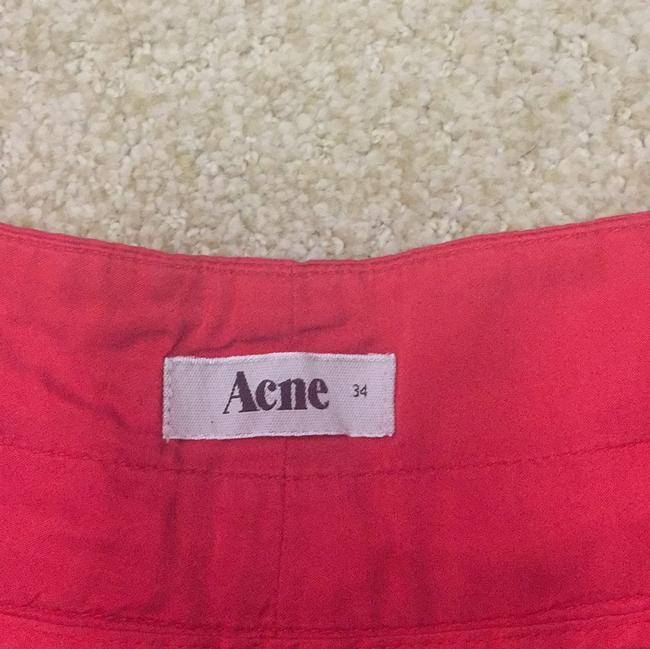 Acne Studios Dress Shorts Red
