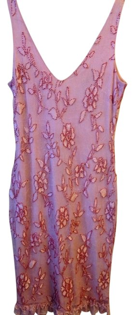 Preload https://item2.tradesy.com/images/sheri-bodell-pink-beaded-mid-length-night-out-dress-size-12-l-520631-0-0.jpg?width=400&height=650