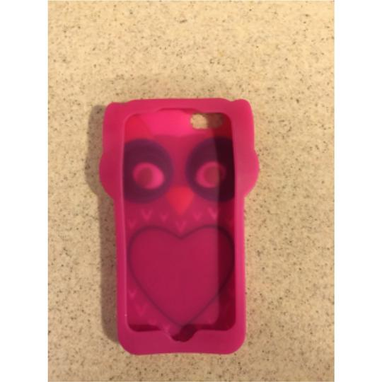 Cellphone Accessorie Owl Pink Rubber Lightweight Case For Iphone 5