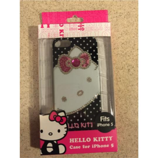 Other Black Hello Kitty Rhinestone Hard Plastic Case For Iphone 5