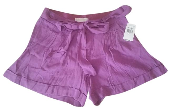 MM Couture Pink Cuffed Bows Silk Bow Ties Pockets Miss Pink Xs 0 25 Tie Belt Dress Shorts Purple Magenta