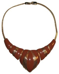 Other Vintage Modernist Chunky Enamel Runway Choker Necklace