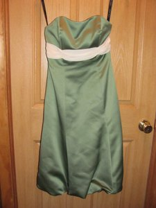 Alfred Angelo Sage Green Dress