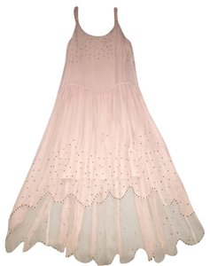 Nude Maxi Dress by Urban Outfitters