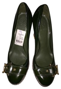 Tory Burch Green Platforms