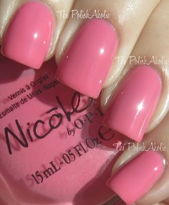 Nicole by O.P.I Feeling Berry Pink Today Nail Polish