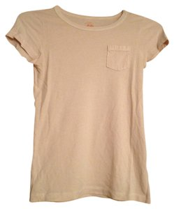 J.Crew T Shirt Light Pink