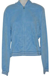 Express Blue, Hoodie, Race Stripe, Zip Front