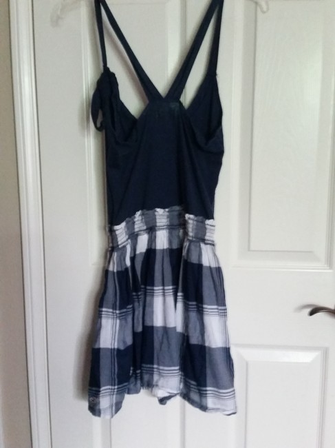 Abercrombie & Fitch short dress Blue and White on Tradesy