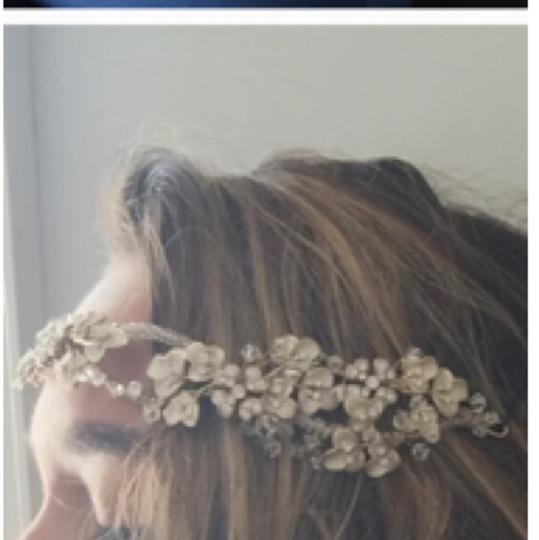 Gold Tint/ Ivory Hair Accessory