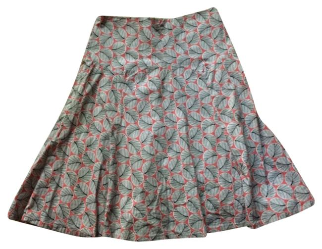 Item - Pink Elevenses Geometric Lined Skirt Size 6 (S, 28)