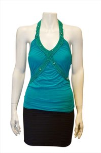 Rampage TURQUOISE Halter Top