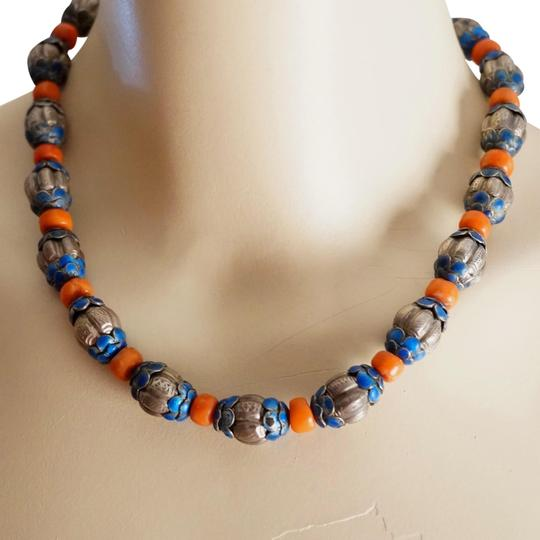 Preload https://item4.tradesy.com/images/antique-chinese-reposse-silver-enamel-coral-bead-necklace-520888-0-2.jpg?width=440&height=440