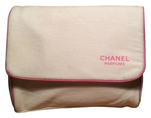 Chanel Chanel Soft Cream Cosmetic Bag