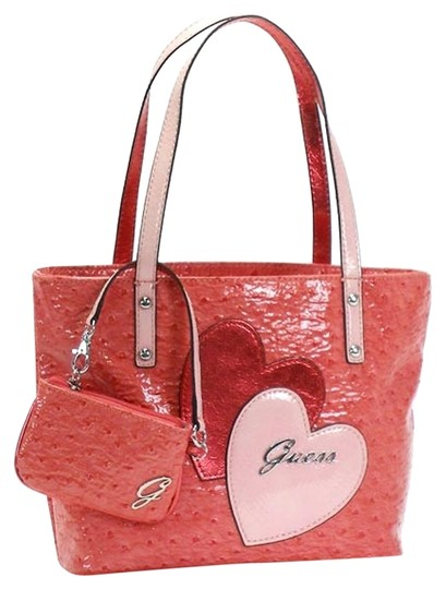 Preload https://item2.tradesy.com/images/guess-soulmates-pink-pvc-tote-5209261-0-0.jpg?width=440&height=440
