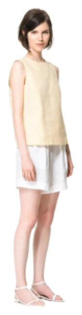 Zara Bermuda Shorts White