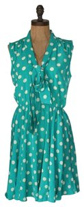 Velvet Heart short dress GREEN Printed Day on Tradesy