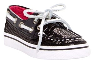 Sperry Top Sider Kids Boat Black Athletic