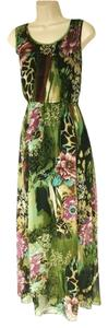 Tropical Maxi Dress by Speed Control Full Length Summer