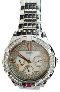 Guess Silver crystal watch