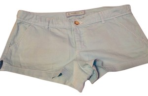 Abercrombie & Fitch Nwot Cotton Mini/Short Shorts Baby blue