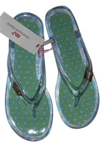 Vineyard Vines Nautical Beachwear Beach CLEAR Sandals