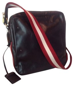 Bally Dark Brown Messenger Bag