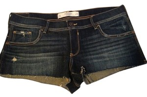 Abercrombie & Fitch Nwot Shortalls Shorts Dark blue denim