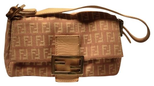 Preload https://item4.tradesy.com/images/fendi-zucca-pink-canvas-and-leather-exterior-canvas-interior-clutch-521088-0-0.jpg?width=440&height=440