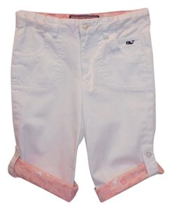 Vineyard Vines Girl's Capris WHITE