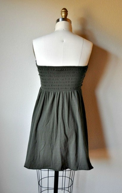 Xhilaration short dress Hunter Green Ruffle Knit on Tradesy