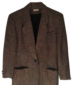 Doncaster Brown with Multi Colors Blazer