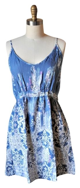 Preload https://item3.tradesy.com/images/lily-white-blue-purple-sundress-paisley-spaghetti-strap-above-knee-short-casual-dress-size-8-m-5211517-0-0.jpg?width=400&height=650