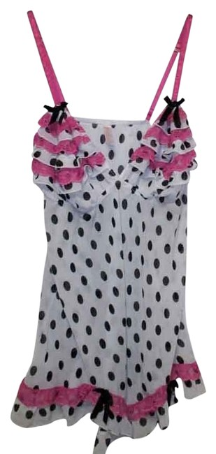 Cacique short dress Cacique By Lane Bryant Polka Dot Babydoll Size 18/20 (2X) 2x on Tradesy