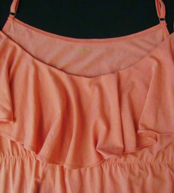 Peach Orange Maxi Dress by Garnet Hill New Without Tags Maxi Knit Empire Waist Long