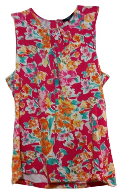 Preload https://item1.tradesy.com/images/chaps-multiple-colored-floral-pattern-tank-topcami-size-12-l-5211730-0-0.jpg?width=400&height=650