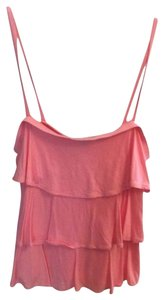 Gap Summer Ruffle Top Coral