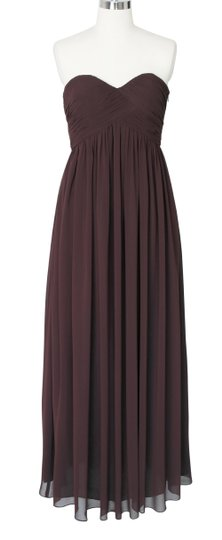 Preload https://img-static.tradesy.com/item/521195/brown-chiffon-chocolate-strapless-sweetheart-long-size18-formal-bridesmaidmob-dress-size-18-xl-plus-0-0-540-540.jpg