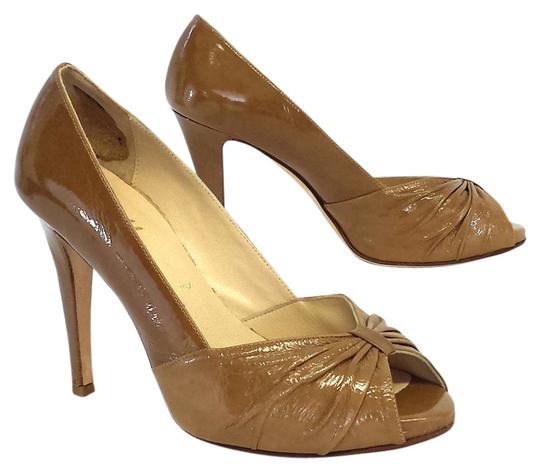 Preload https://item4.tradesy.com/images/butter-tan-patent-leather-peep-toe-heels-pumps-size-us-8-5212933-0-0.jpg?width=440&height=440