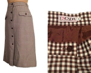Escada Skirt BROWN