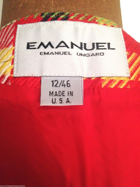 Emanuel Ungaro Skirt RED