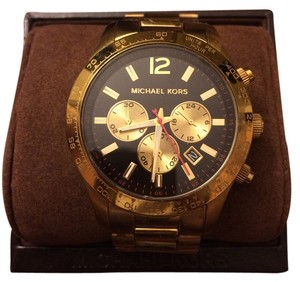 Michael Kors Rare gold and black Michael Kors watch