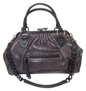 Marc Jacobs Mj Stam Mjbag Marcjacobsbag Satchel in Gray