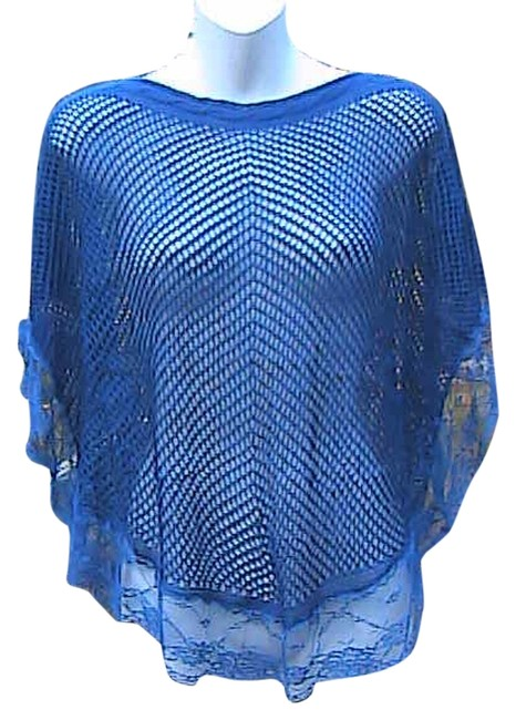 Preload https://item1.tradesy.com/images/dark-blue-crochet-loose-knit-lace-sweaterpullover-size-os-one-size-5213905-0-0.jpg?width=400&height=650