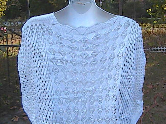 Other W/O Tag Summer Crochet Sweater