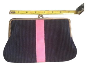 CK Bradley New York Navy Blue, Pink Clutch