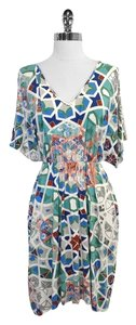 Tibi short dress Print Short Sleeve on Tradesy