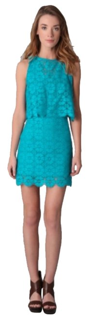 Rebecca Minkoff short dress Turquoise on Tradesy