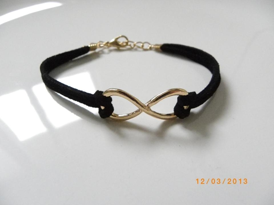 buy cz detail fashion bracelet infinity friendship symbol product cheap