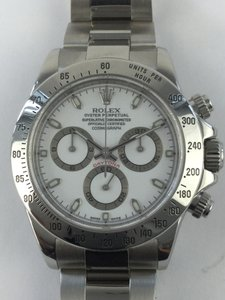 Rolex MENS ROLEX COSMOGRAPH DAYTONA STAINLESS STEEL